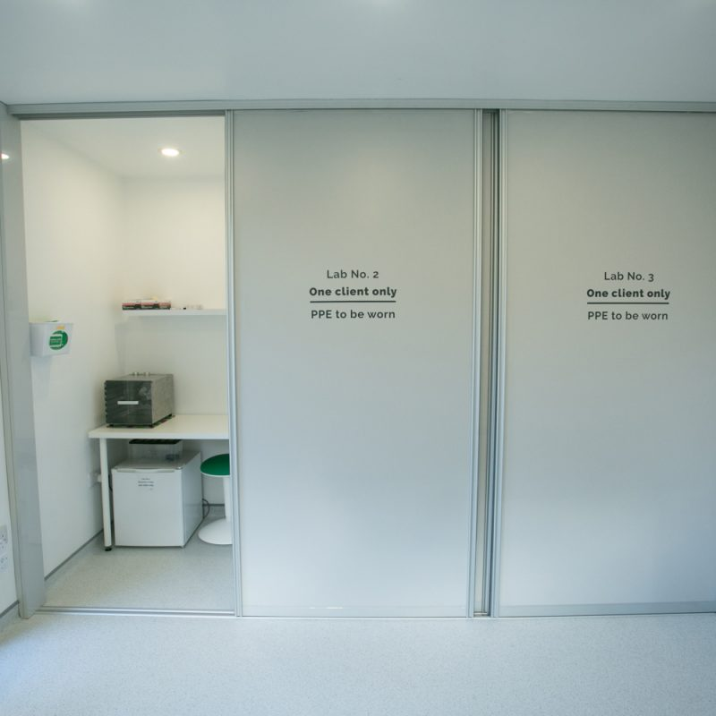 The three units of the Placenta Encapsulation Labs, first in Ireland